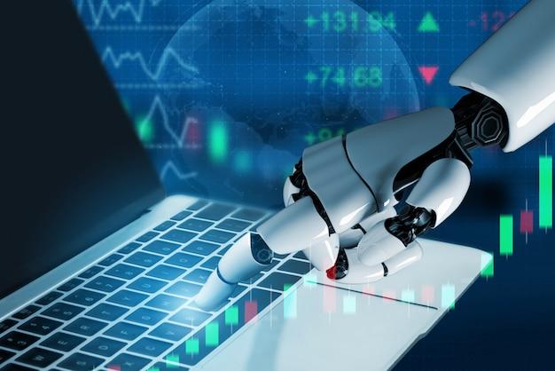 Intelligenza artificiale futuristica