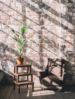 Interior design della stanza o dello studio.