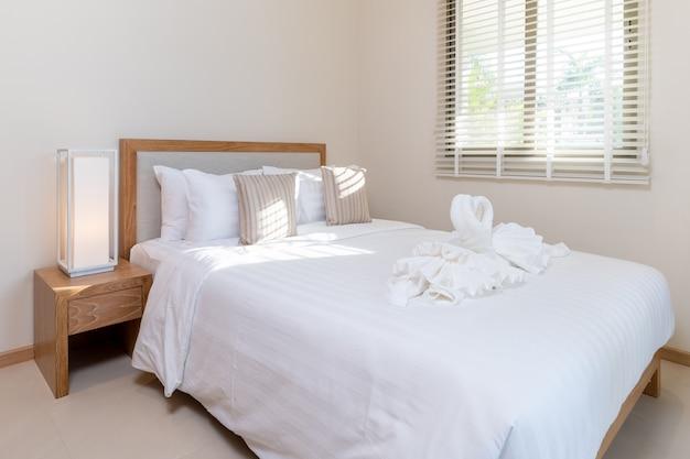 Interior design nella camera da letto della casa