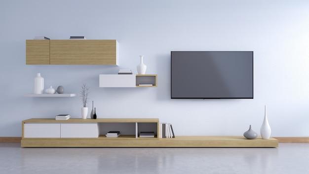 Interni moderni di soggiorno e stile accogliente