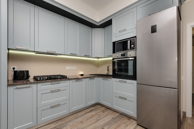 Interno cucina moderna