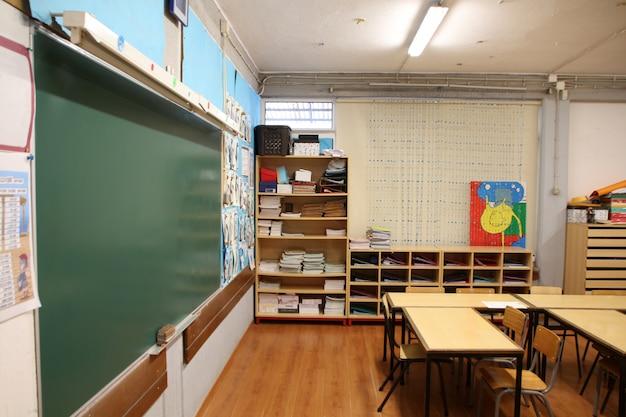 Interno della scuola elementare