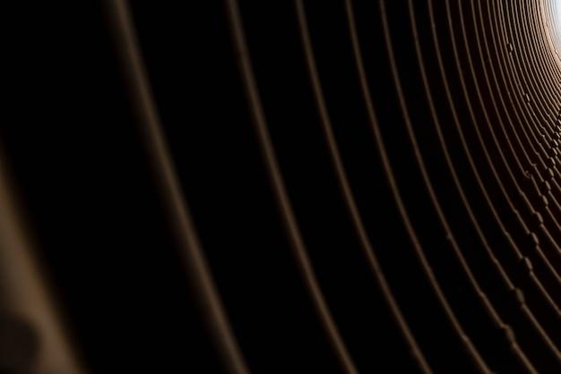 Interno di un tunnel con linee, per sfondi.