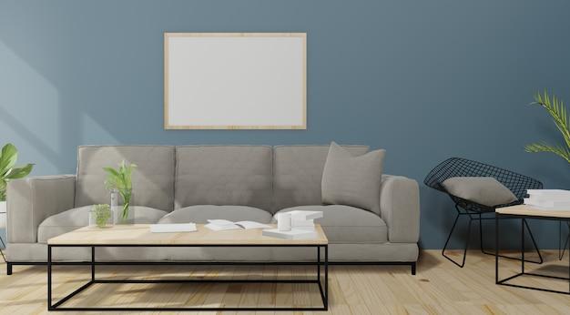 Interno soggiorno moderno