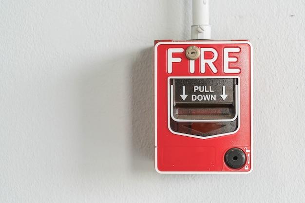 Interruttore di allarme antincendio