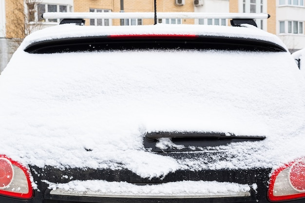 Inverno neve auto