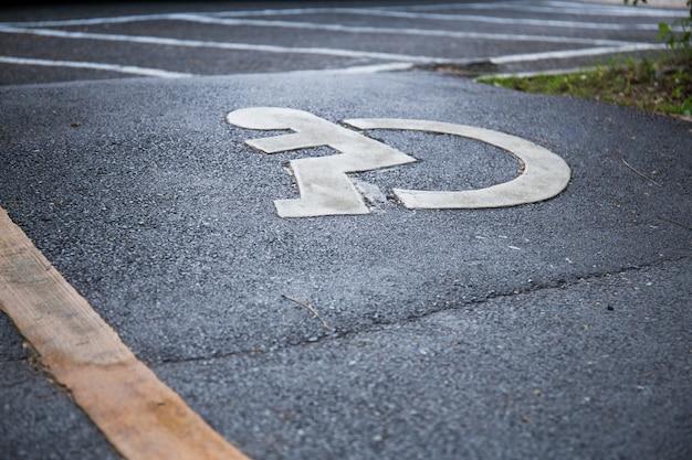 Iscriviti per disabili sulla strada