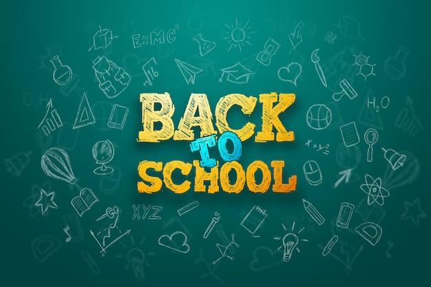 Iscrizione ritorno a scuola, elementi dell'educazione
