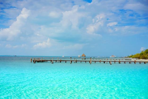 Isla mujeres island caraibi beach mexico