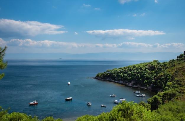Isola della principessa nel paesaggio di istambul