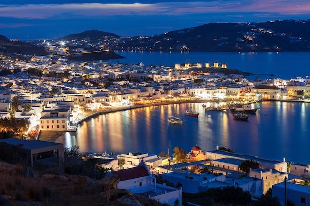 Isola di mykonos in grecia