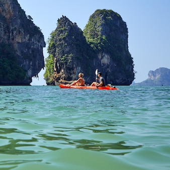 Isola di paradiso in tailandia andamane