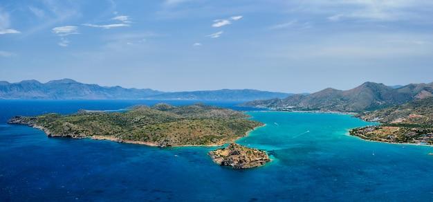 Isola di spinalonga, creta, grecia