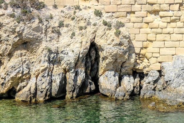 Isola di tabarca in costa blanca mediterraneo - spagna