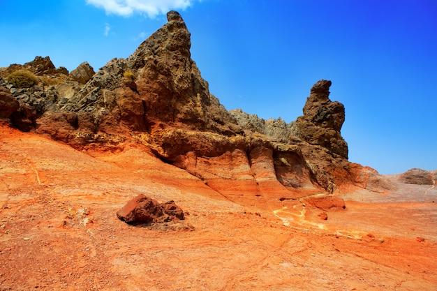 Isole canarie nel parco nazionale del teide di tenerife