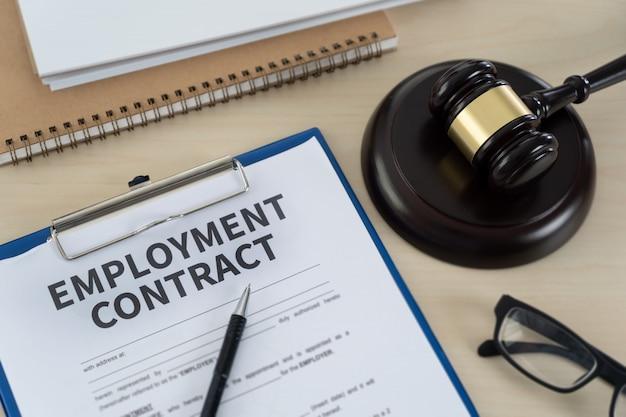 Istruzione legale di lavoro di legge di occupazione