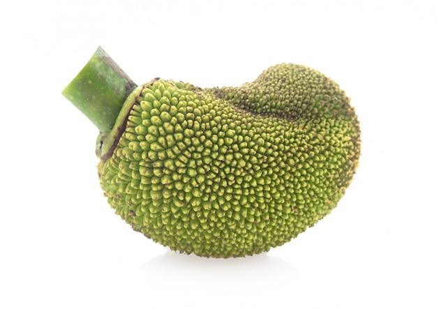 Jackfruit isolato su sfondo bianco