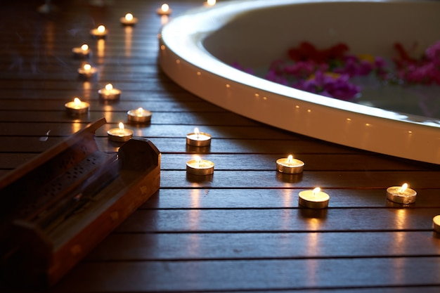 Jacuzzi e sala massaggi