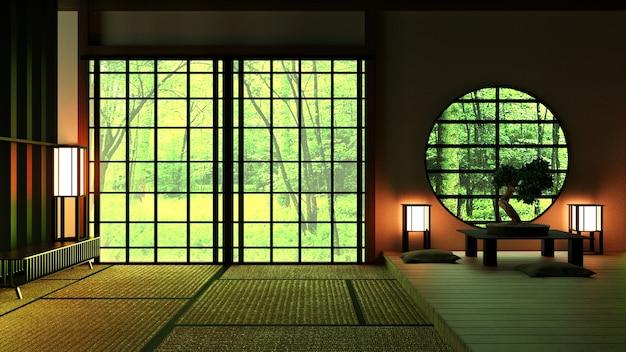 Japan room design in stile giapponese