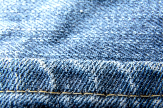 Jeans denim texture di sfondo con vecchi strappati / moda jeans / la trama del tessuto di cotone.
