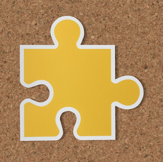 Jigsaw puzzle piece icon