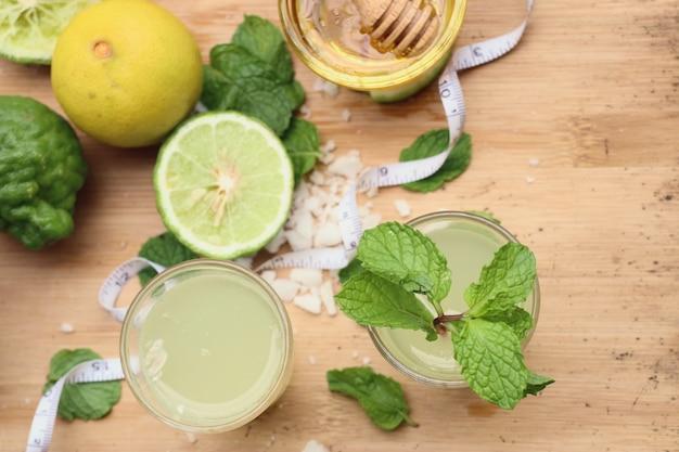 Kaffir lime e limone