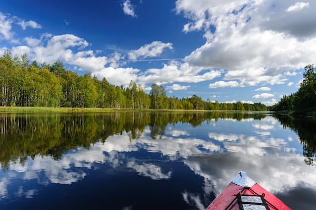Kayak nella carelia