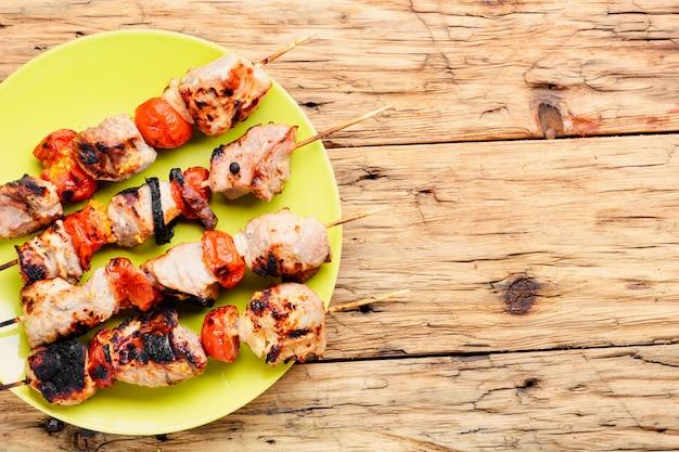 Kebab: carne alla griglia