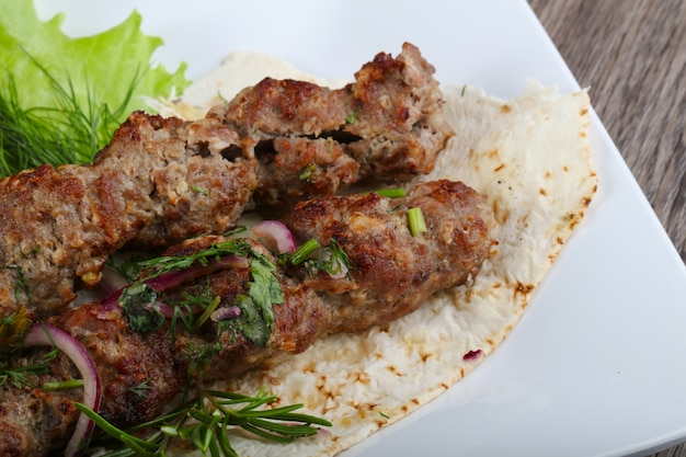 Kebab di agnello