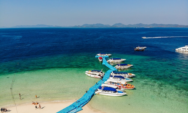 Khai nok island, khai island nell'attrazione turistica di phang nga