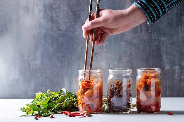 Kimchi coreano antipasto