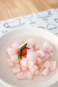 Kimchi ravanello