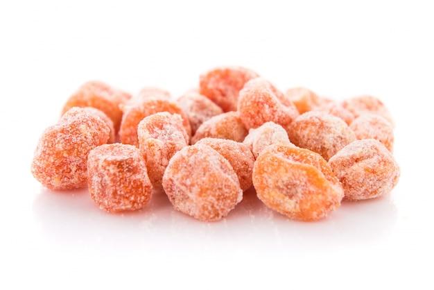 Kumquat arancione secco
