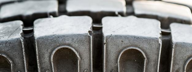 L'abrasione della ruota ocar riduce la sicurezza