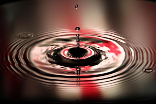 L'acqua delle immagini lascia una bella forma