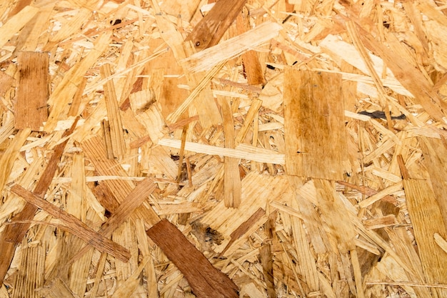 L'ammasso di legno del nastro si è strutturato