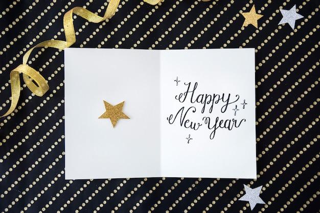 L'annuale del nuovo anno celebra il concetto di evento di dicembre