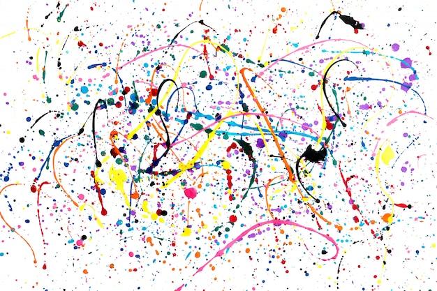 L'arte astratta di gocciola acquerello