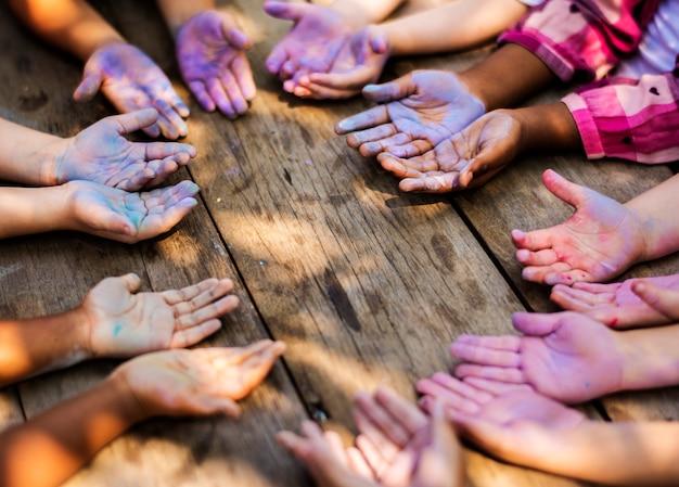 L'arte dei bambini insieme