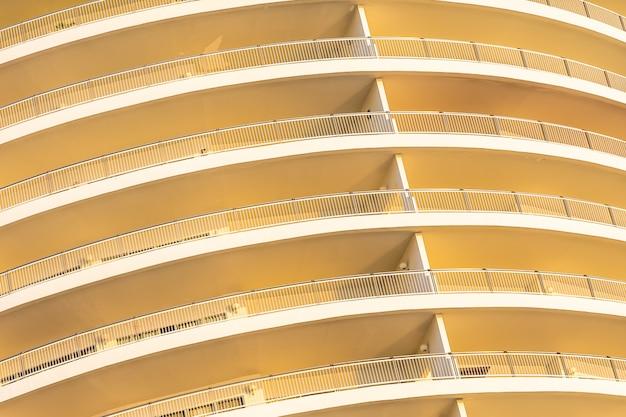 L'esterno della superficie delle strutture astratte della costruzione