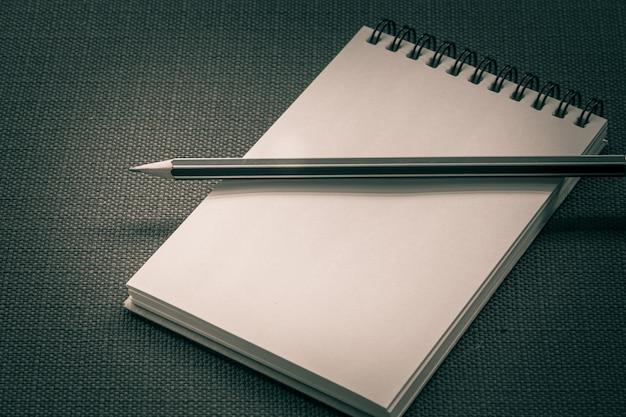L'immagine di un notebook o diario per uno sfondo