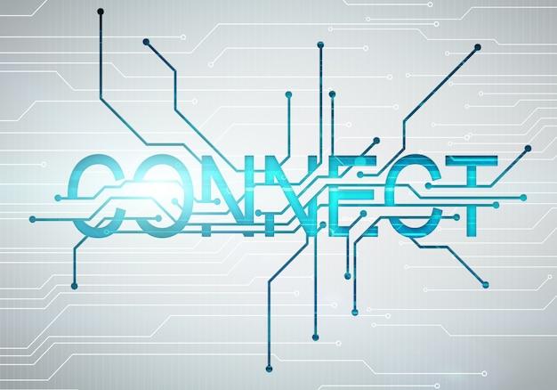 L'immagine digitale collega il concetto di parola con il microchip del circuito