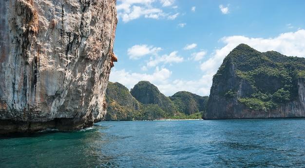 L'isola di phi phi leh krabi, tailandia