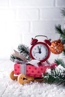L'orologio di capodanno.