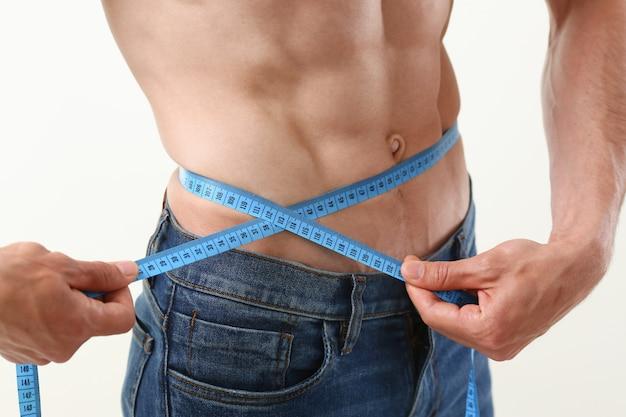 L'uomo ha perso peso grazie a una dieta