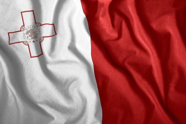 La bandiera di malta