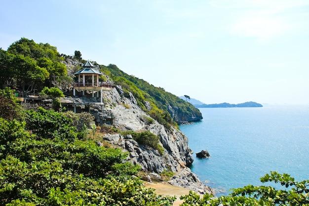 La bella vista sull'isola di sichang