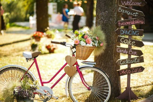 La bicicletta decorativa