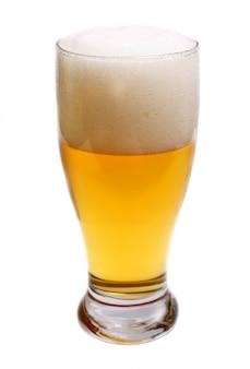 La birra è nel bicchiere