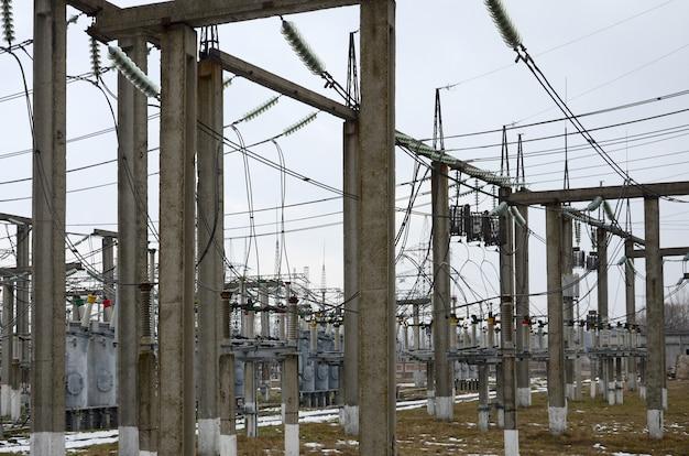 La centrale elettrica è una stazione di trasformazione